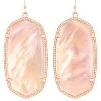 Danielle Earrings in Peach Illusion - Kendra Scott Jewelry