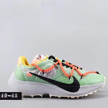 Trendsetter Off White X Nike Air Vapormax Fx  Men Fashion Casual  Sneakers Sport Shoes