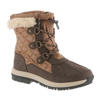 Womens Bethany by BEARPAW in color Chocolate/Khaki