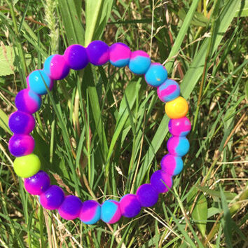 Lokai Bracelet Mix Color (Blue/Pink/Yellow)
