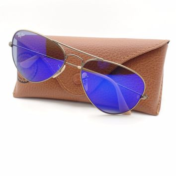 Cheap Ray Ban RB 3025 167/68 Bronze Blue Mirror New Authentic Sunglasses rl917