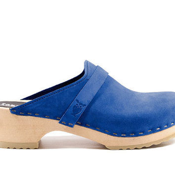 NEW! Tokyo Classic - Classics - Low Heel - Fine Leather - Sandgrens Clogs - Women Trend - Trendy Heels - Swedish Shoes - Fashion Footwear