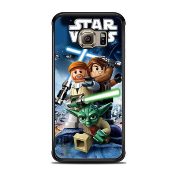 LEGO Star Wars III The Clone Wars Movie Samsung Galaxy S6 Edge Case