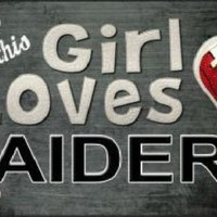 This Girl Loves Her Raiders  NFL Football Tag