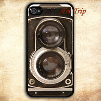 iPhone 4 Case, iphone 4s case -- Retro Twin Reflex Camera iPhone 4 Case, iphone case
