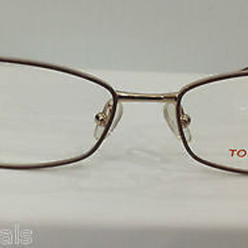 NEW AUTHENTIC TORY BURCH TY 1024 COL 385 BROWN EYEGLASSES FRAME 52-16-135