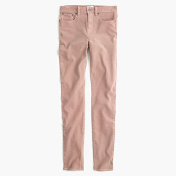 """9"""" high-rise toothpick corduroy pant"""