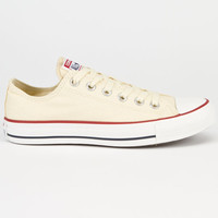 Converse Chuck Taylor All Star Low Womens Shoes Natural White  In Sizes