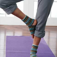 Yoga Socks! Enhances smoothness and fluidity to your transitions while keeping your feet warm. Great gift for the yoga enthusiast