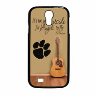 Ed Sheeran Guitar And Song Quotes Samsung Galaxy S4 Case