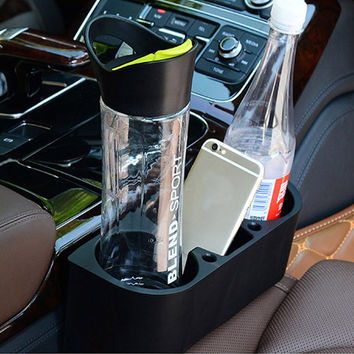 Seat Side Car Drink Holder Cup Stands For Auto Swivel Mount Holders Travel Drinks Cup Coffee Bottle Table Stand Food Rack Tray