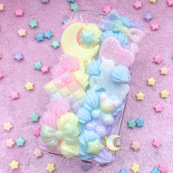 2-Piece Rainbow iPhone 6 Decoden Case