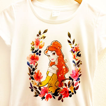 Belle Floral Shirt | Beauty and the Beast | Disney Princess