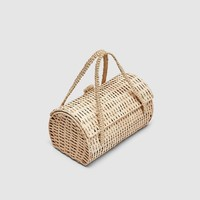 WICKER HANDBAG DETAILS