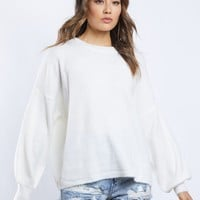 Bianca Balloon Sleeve Sweater