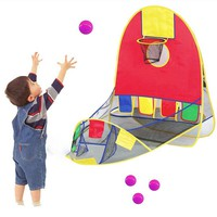 Ball Tent Play House Basketball Basket Tent Ocean Ball Pool Outdoor Indoors Sport Kids Toys Beach Lawn Play Tent Scoring 880542