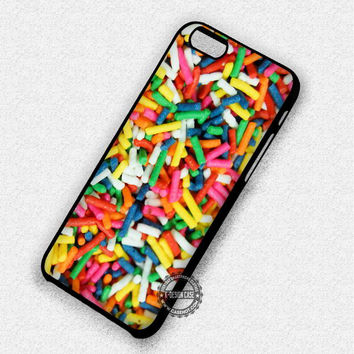Rainbow Candy Sprinkles - iPhone 7 6S 5S SE Cases & Covers