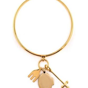 CHLOÉ | Cross, Fork, Harlow Bracelet | brownsfashion.com | The Finest Edit of Luxury Fashion | Clothes, Shoes, Bags and Accessories for Men & Women
