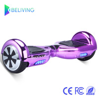 Hoverboard 2 Wheels Smart Balance Scooter Hover board Standing Smart Wheel Motorized Adult Roller Drift Board Beliving N1-6.5CH