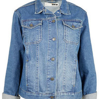 MOTO Vintage Oversize Jacket - Spring Denim  - We Love