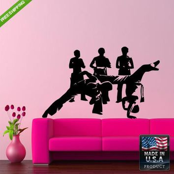 Wall Decals Art Decor Decal Sticker Bedroom Dance Dancers Hip Hop  z197