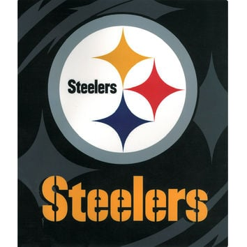 Pittsburgh Steelers King NFL Blanket - Free Shipping in the Continental US!