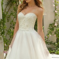 Mori Lee Wedding Dresses [67491] at BestBridalPrices.com