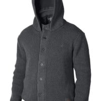 Montana Button Front Hoodie Sweater | Men's Long Sleeves | Nixon Watches and Premium Accessories