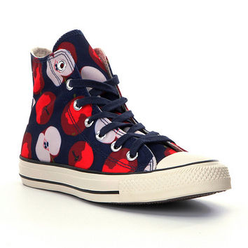 Converse Chuck Taylor All Star Apple-Print Hi-Top Sneakers | Dillards