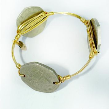 Bourbon & Boweties: Mexican Coin Bangle