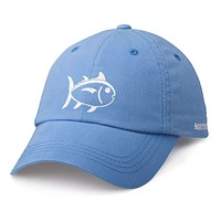 Printed Skipjack Hat in Blue by Southern Tide