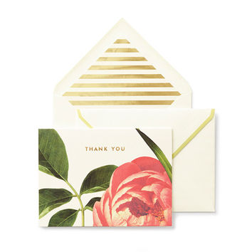kate spade new york Floral Thank You Cards