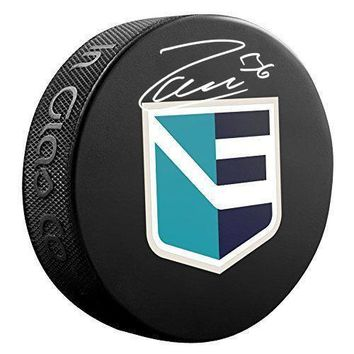 Mats Zuccarello Signed Team Europe World Cup Of Hockey Puck