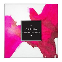 Cool and Elegant Abstract Fuchsia Pink Watercolor Binder