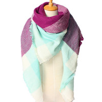 Soft Cashmere Winter Scarf