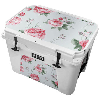 Vintage Rose Clusters Skin for the Yeti Tundra Cooler