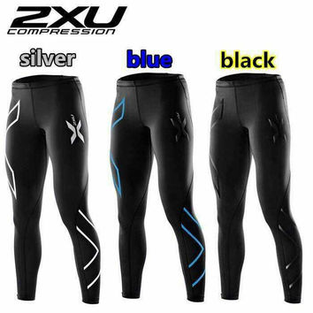 2xu Brand Clothing Womens Compression Tights Pants Trousers Ladies Joggers Pantalon Femme Breathable Quick Drying Sweatpants