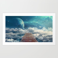 View from the pier Art Print by Seamless