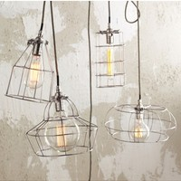 Factory Cage Lamps by Roost - lighting & candles - house & home