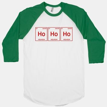 HO HO HO ( Holmium Christmas Element )