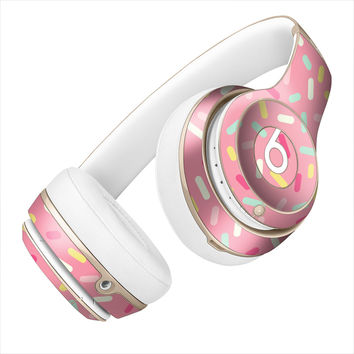 Pink Donut Sprinkles Skin for the Beats By Dre Headphones