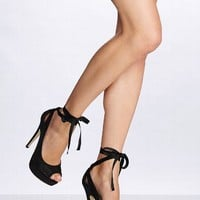 Mesh & Ribbon Pump - Colin Stuart® - Victoria's Secret