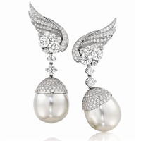 Verdura | Products | EARCLIPS | PEARL | Mercury Earclips