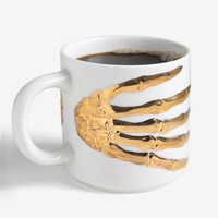 IMM Living The Oracles Skeleton Hands Mug