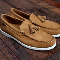 Sebago Thompson Tan | 7 Shoes | Ronnie Fieg x Sebago