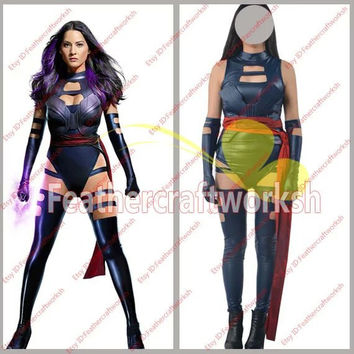 Psylocke Cosplay Costume from X-Men: Apocalypse