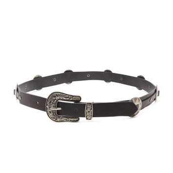 Concho Faux Leather Belt   Forever 21 - 2000237904