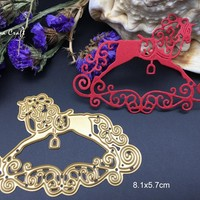 Metal cutting dies baby rocking horse toy lace Scrapbook card album paper craft home decoration embossing stencils cutter