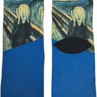 The Scream Art Socks