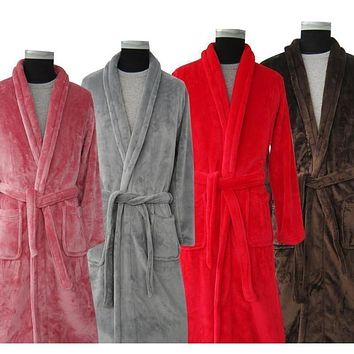 Long and Soft Collection Bath Robes - 7 Colors & Multiple Sizes